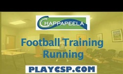 Football Training Running