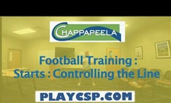 Football Training: Starts: Controlling the Line